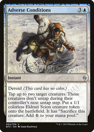 Adverse Conditions [Battle for Zendikar] | The Guild in the Grove