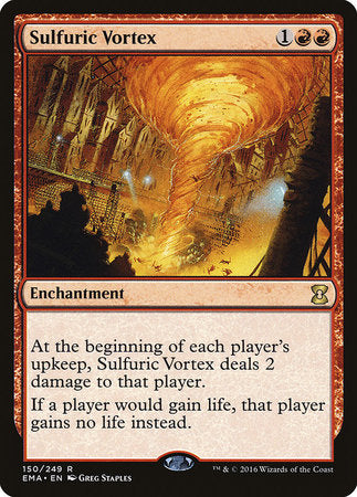 Sulfuric Vortex [Eternal Masters] | The Guild in the Grove
