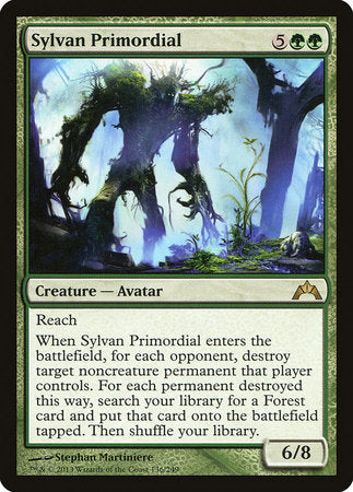 Sylvan Primordial [Gatecrash] | The Guild in the Grove