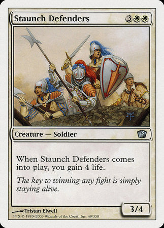 Staunch Defenders [Eighth Edition] | The Guild in the Grove