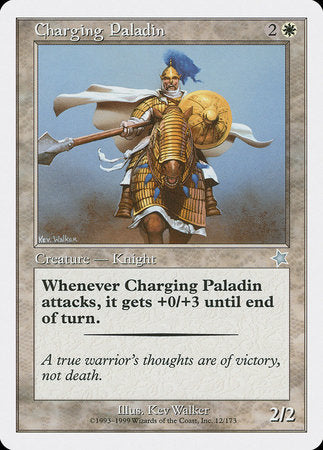 Charging Paladin [Starter 1999] | The Guild in the Grove