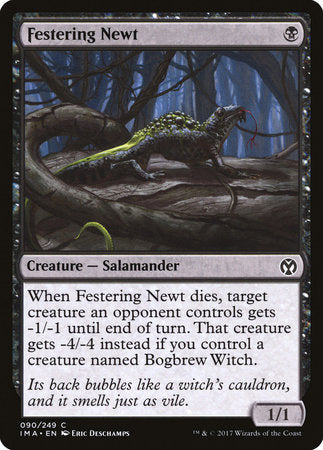 Festering Newt [Iconic Masters] | The Guild in the Grove