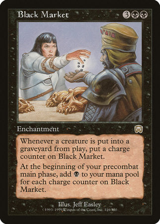 Black Market [Mercadian Masques] | The Guild in the Grove