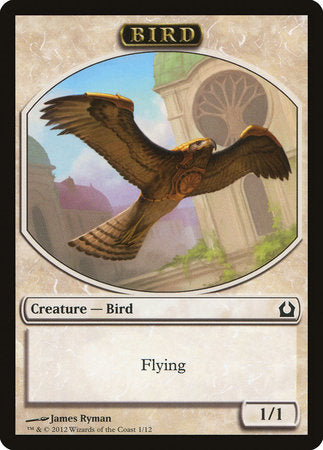 Bird Token [Return to Ravnica Tokens] | The Guild in the Grove