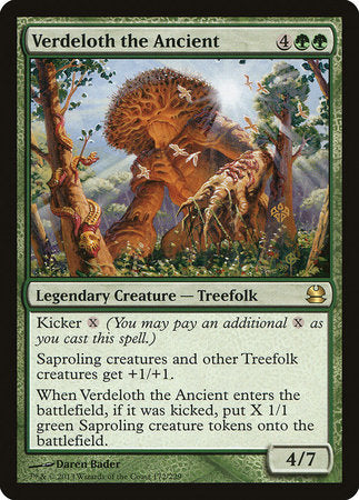 Verdeloth the Ancient [Modern Masters] | The Guild in the Grove