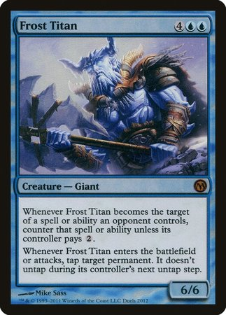 Frost Titan [Duels of the Planeswalkers Promos 2011] | The Guild in the Grove