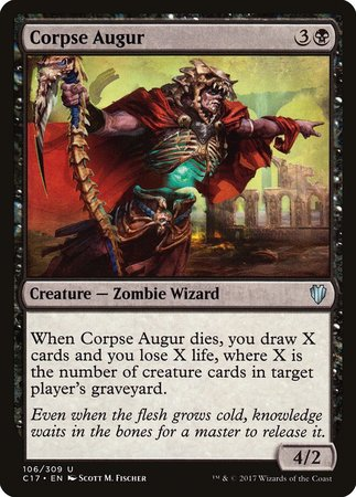 Corpse Augur [Commander 2017] | The Guild in the Grove
