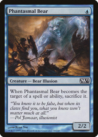 Phantasmal Bear [Magic 2012] | The Guild in the Grove