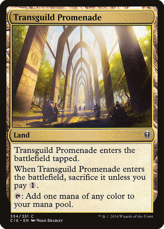 Transguild Promenade [Commander 2016] | The Guild in the Grove