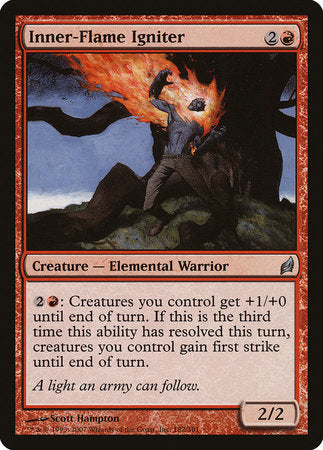 Inner-Flame Igniter [Lorwyn] | The Guild in the Grove