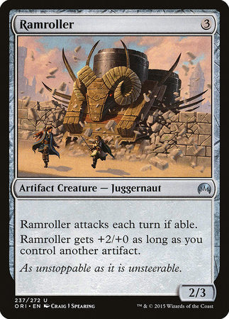 Ramroller [Magic Origins] | The Guild in the Grove