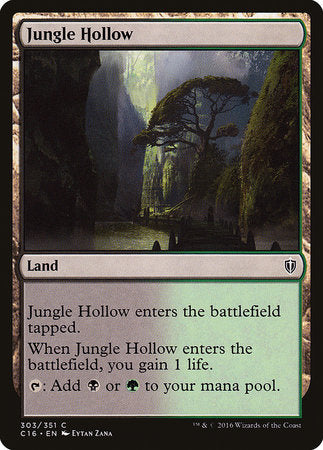 Jungle Hollow [Commander 2016] | The Guild in the Grove