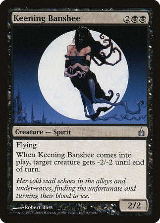 Keening Banshee [Ravnica: City of Guilds] | The Guild in the Grove