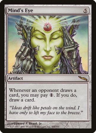 Mind's Eye [Mirrodin] | The Guild in the Grove