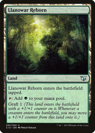 Llanowar Reborn [Commander 2015] | The Guild in the Grove