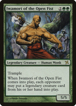 Iwamori of the Open Fist [Betrayers of Kamigawa] | The Guild in the Grove