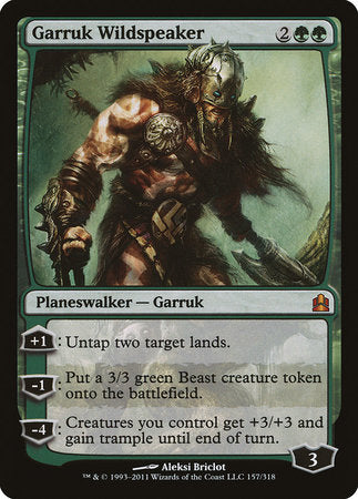 Garruk Wildspeaker [Commander 2011] | The Guild in the Grove