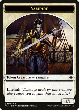 Vampire (001) Token [Ixalan Tokens] | The Guild in the Grove