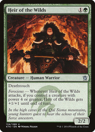 Heir of the Wilds [Khans of Tarkir] | The Guild in the Grove