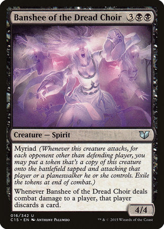 Banshee of the Dread Choir [Commander 2015] | The Guild in the Grove