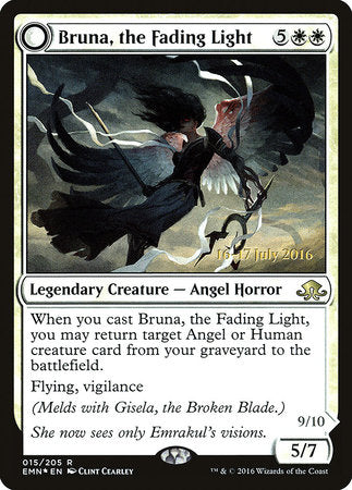 Bruna, the Fading Light [Eldritch Moon Promos] | The Guild in the Grove