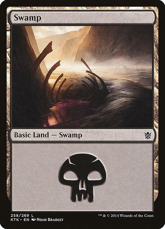 Swamp (258) [Khans of Tarkir] | The Guild in the Grove