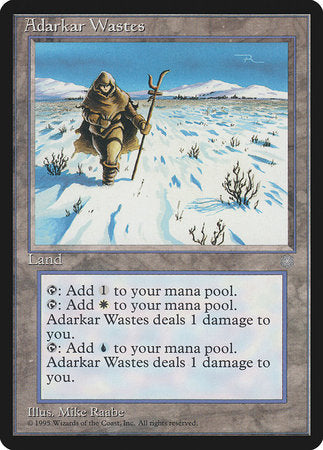 Adarkar Wastes [Ice Age] | The Guild in the Grove