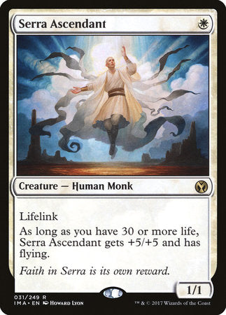Serra Ascendant [Iconic Masters] | The Guild in the Grove