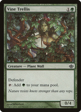 Vine Trellis [Duel Decks: Garruk vs. Liliana] | The Guild in the Grove