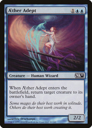 Aether Adept [Magic 2011] | The Guild in the Grove