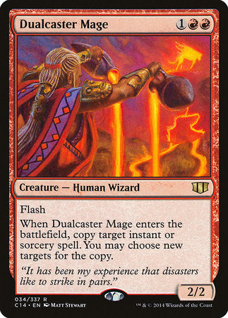 Dualcaster Mage [Commander 2014] | The Guild in the Grove