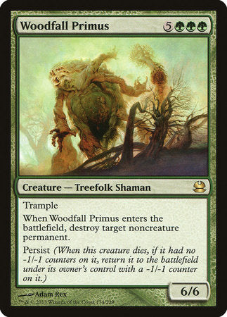 Woodfall Primus [Modern Masters] | The Guild in the Grove