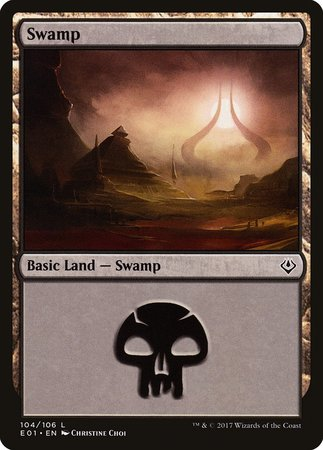 Swamp (104) [Archenemy: Nicol Bolas] | The Guild in the Grove
