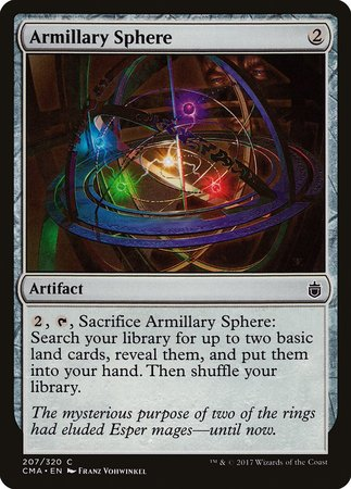 Armillary Sphere [Commander Anthology] | The Guild in the Grove