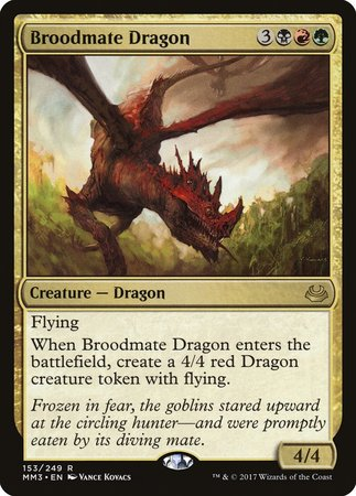 Broodmate Dragon [Modern Masters 2017] | The Guild in the Grove