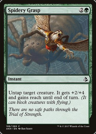Spidery Grasp [Amonkhet] | The Guild in the Grove