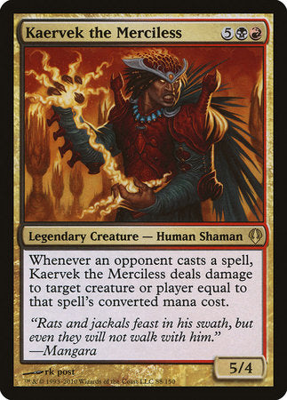 Kaervek the Merciless [Archenemy] | The Guild in the Grove
