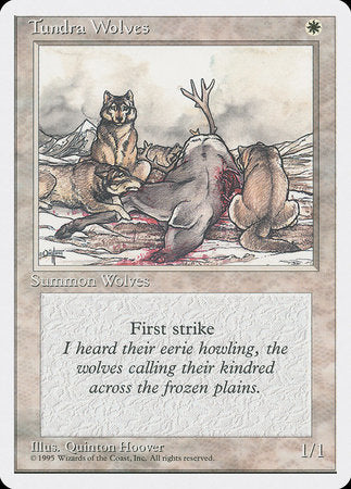 Tundra Wolves [Fourth Edition] | The Guild in the Grove