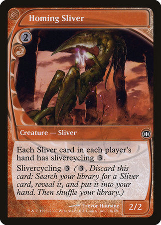 Homing Sliver [Future Sight] | The Guild in the Grove
