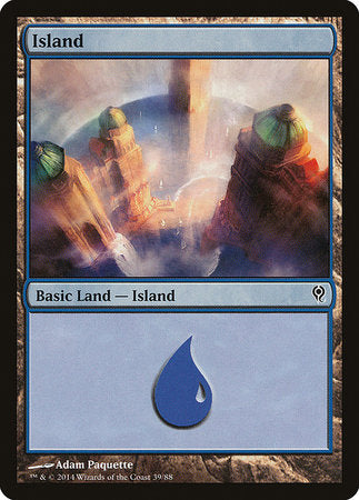 Island (39) [Duel Decks: Jace vs. Vraska] | The Guild in the Grove
