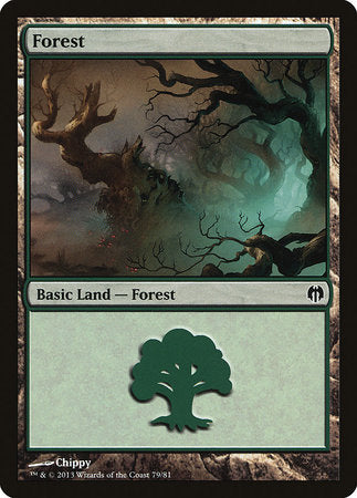 Forest (79) [Duel Decks: Heroes vs. Monsters] | The Guild in the Grove