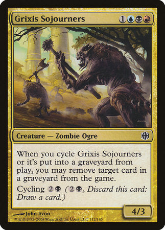 Grixis Sojourners [Alara Reborn] | The Guild in the Grove