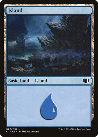 Island (322) [Commander 2014] | The Guild in the Grove