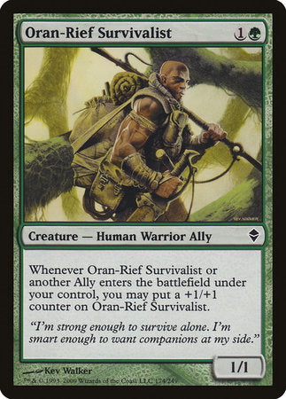 Oran-Rief Survivalist [Zendikar] | The Guild in the Grove