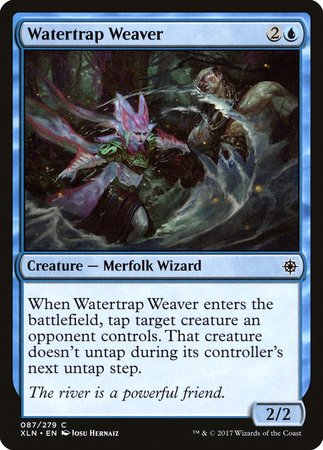 Watertrap Weaver [Ixalan] | The Guild in the Grove