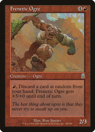 Frenetic Ogre [Odyssey] | The Guild in the Grove
