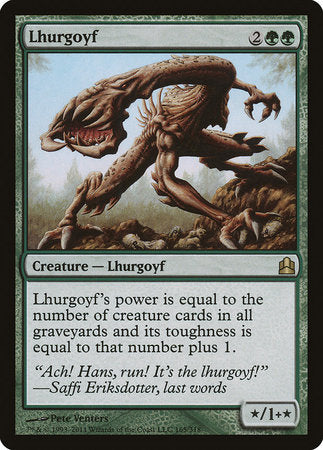Lhurgoyf [Commander 2011] | The Guild in the Grove