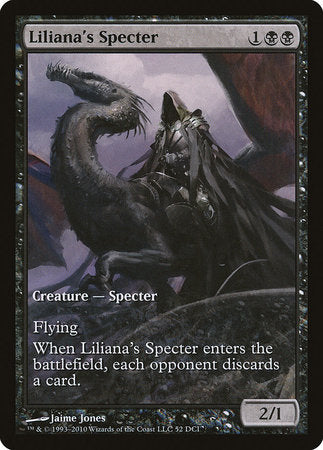 Liliana's Specter [Magic 2011 Promos] | The Guild in the Grove