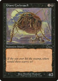 Giant Cockroach [Urza's Legacy] | The Guild in the Grove