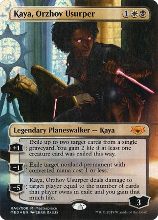 Kaya Orzhov Usurper Mythic Edition The Guild In The Grove Casual standard modern edh / commander duel commander oathbreaker pioneer historic brawl legacy vintage pauper. the guild in the grove oregon